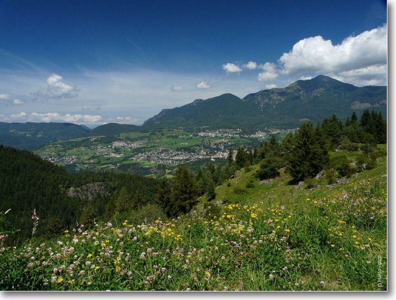 Vue extérieure de la location Location Appartement 25965 Val di Fiemme
