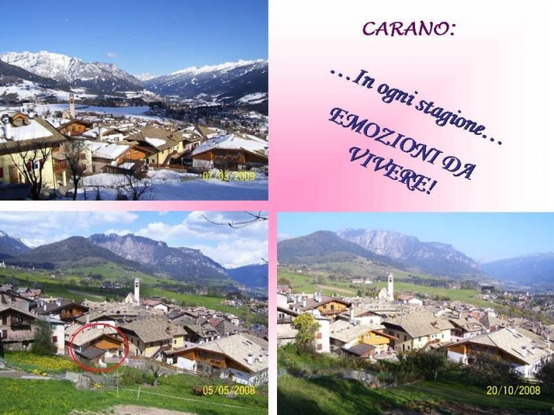 Vue depuis la location Location Appartement 25965 Val di Fiemme
