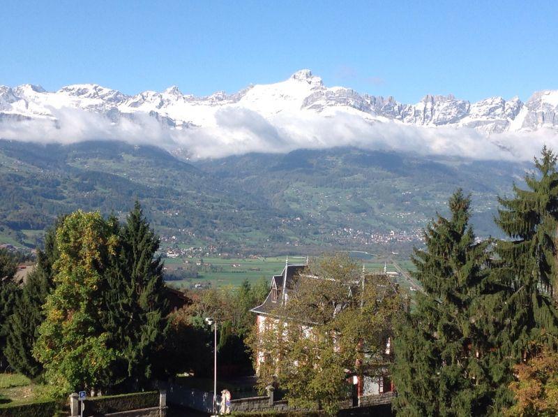 Vue du balcon Location Appartement 2626 Saint Gervais Mont-Blanc