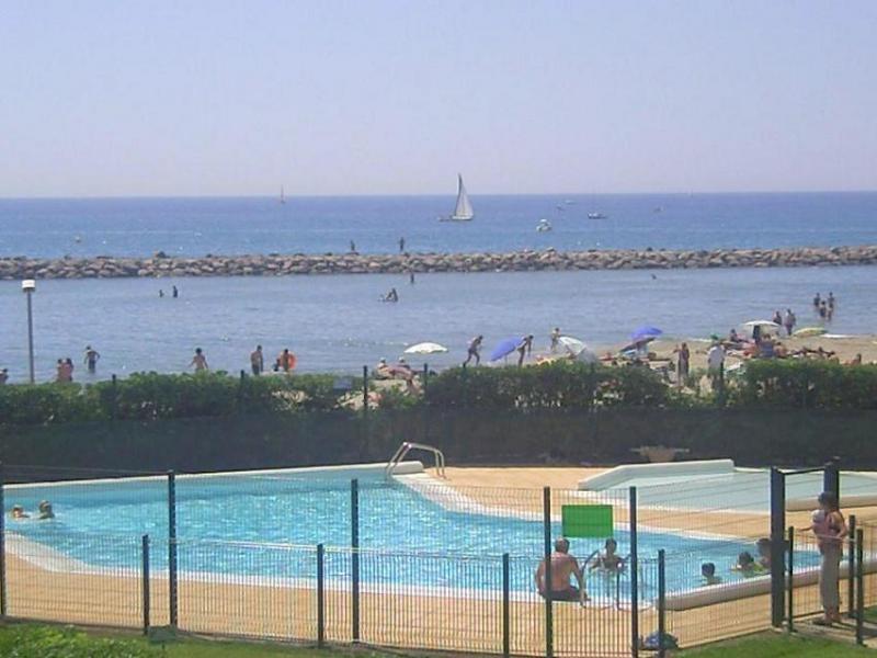 Vue de la terrasse Location Appartement 26554 Palavas-les-Flots