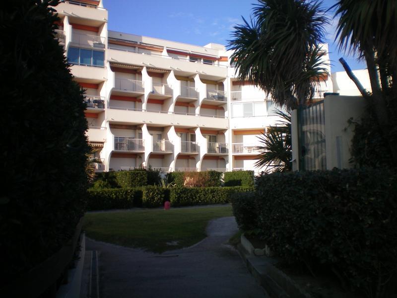 Vue extérieure de la location Location Appartement 26554 Palavas-les-Flots