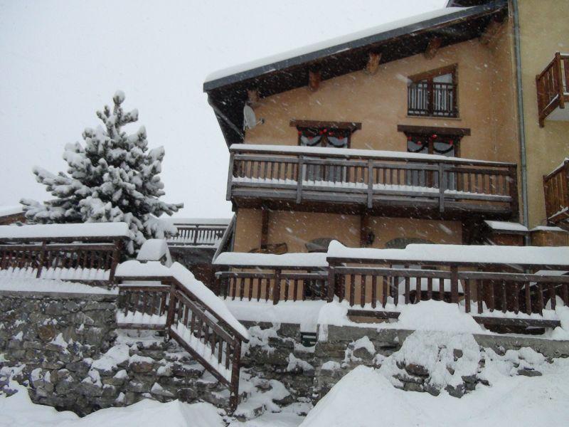 Vue extérieure de la location Location Appartement 26634 Saint Martin de Belleville