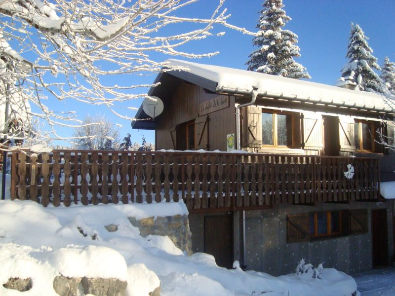 Vue extérieure de la location Location Appartement 26741 La Féclaz