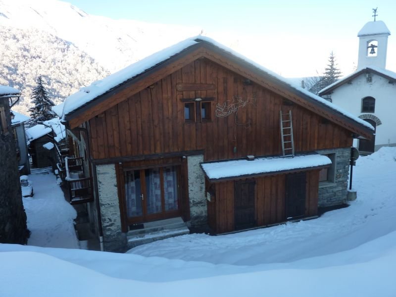 Vue extérieure de la location Location Chalet 26775 Les Menuires