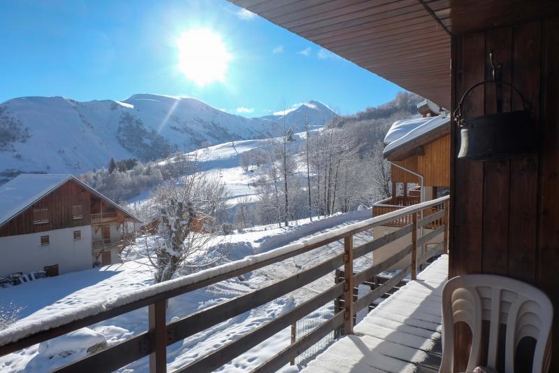 Vue du balcon Location Chalet 2686 Saint Sorlin d'Arves