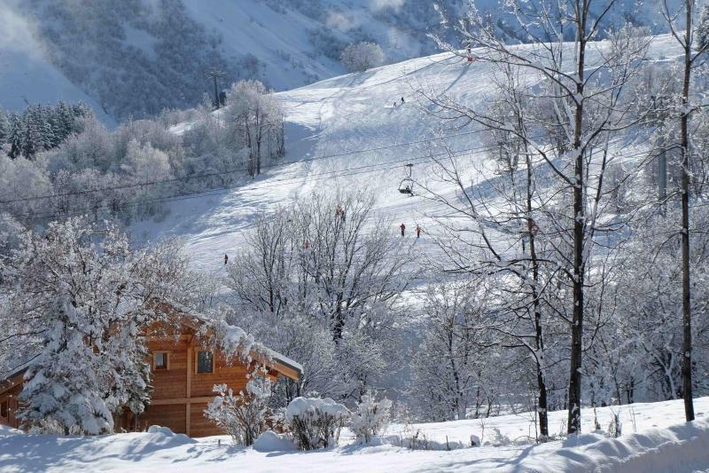 Vue de la terrasse Location Chalet 2686 Saint Sorlin d'Arves
