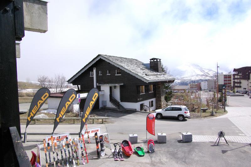 Vue du balcon Location Appartement 27 Alpe d'Huez