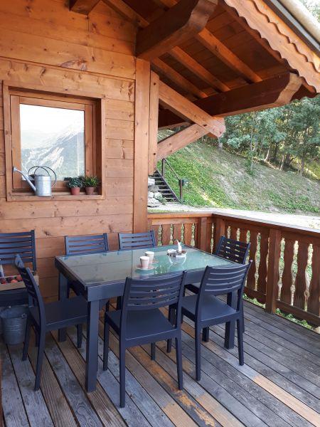 Terrasse Location Chalet 27113 La Plagne