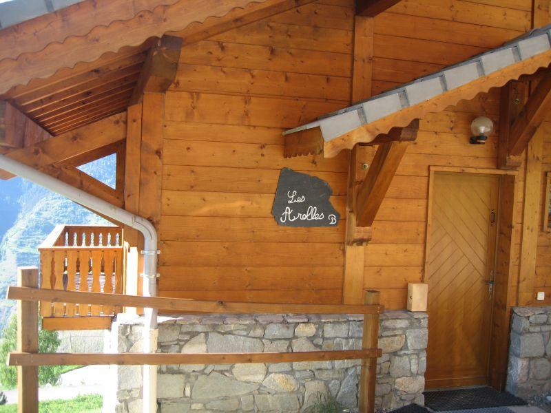 Vue extérieure de la location Location Chalet 27113 La Plagne
