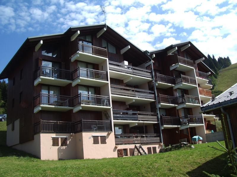 Vue extérieure de la location Location Appartement 2719 Les Saisies