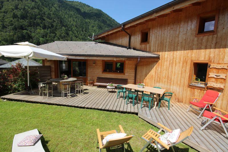 Jardin Location Chalet 27503 Saint Jean d'Aulps- La Grande Terche