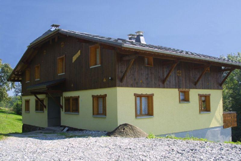 Vue extérieure de la location Location Chalet 2757 Samoëns