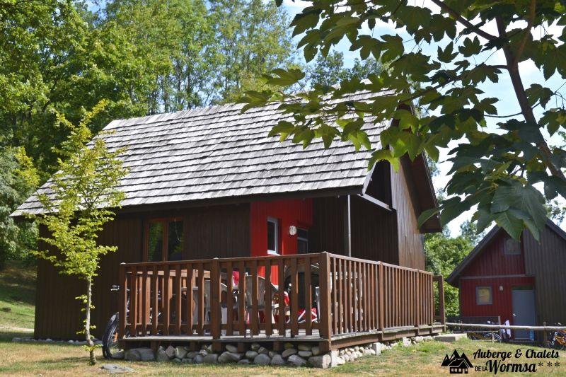 Vue extérieure de la location Location Chalet 27574 Colmar