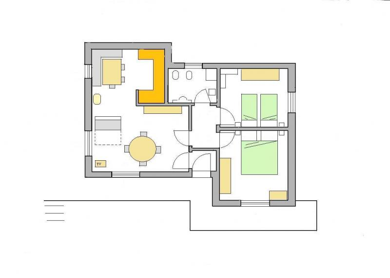 Plan de la location Location Appartement 28148 Selva di Cadore