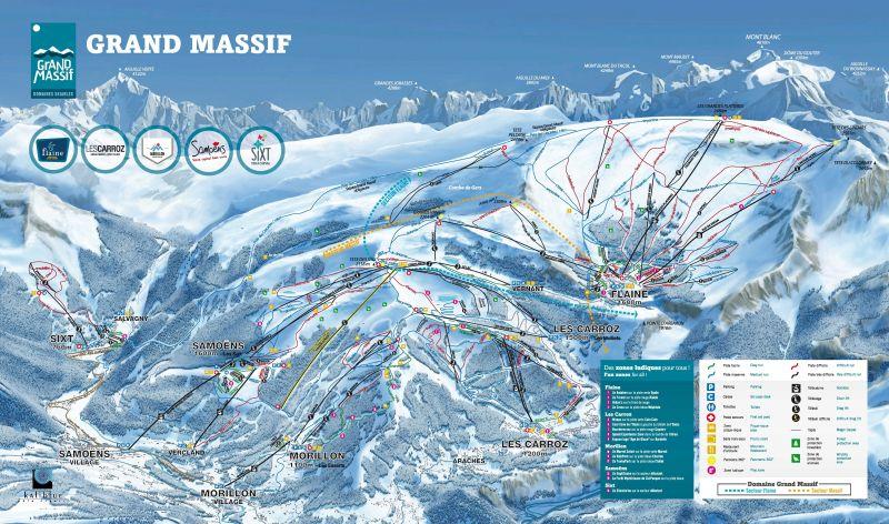 Carte Location Appartement 28743 Morillon Grand Massif