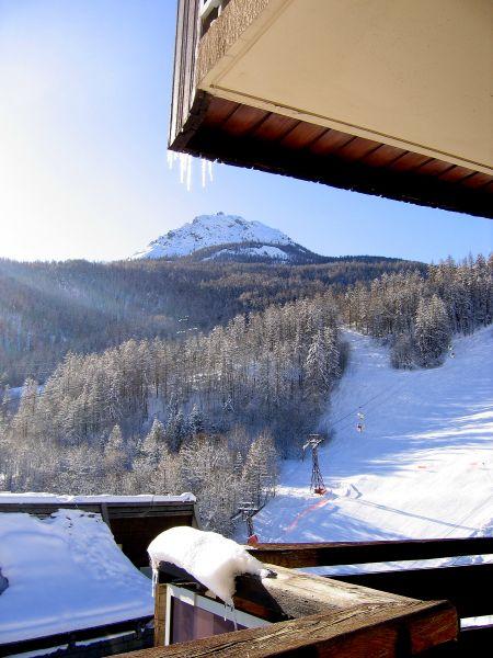 Vue du balcon Location Studio 2892 Serre Chevalier