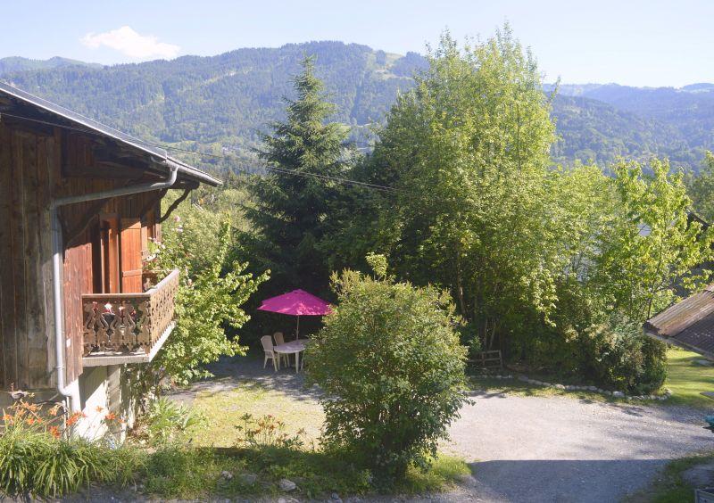 Vue extérieure de la location Location Appartement 28936 Samoëns