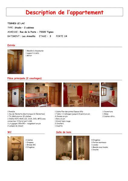 Vue autre Location Studio 28939 Tignes