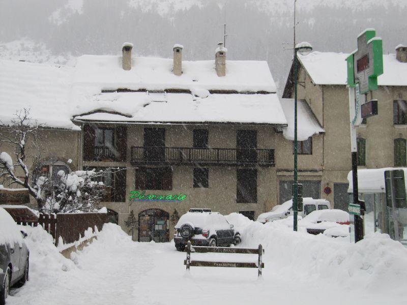 Vue extérieure de la location Location Studio 2895 Serre Chevalier