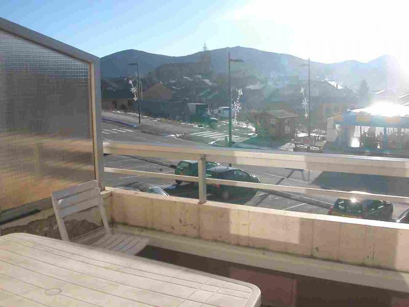 Vue du balcon Location Studio 29062 Les Angles
