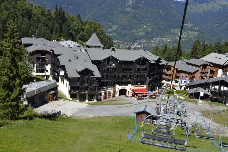 Vue extérieure de la location Location Appartement 29272 Morillon Grand Massif