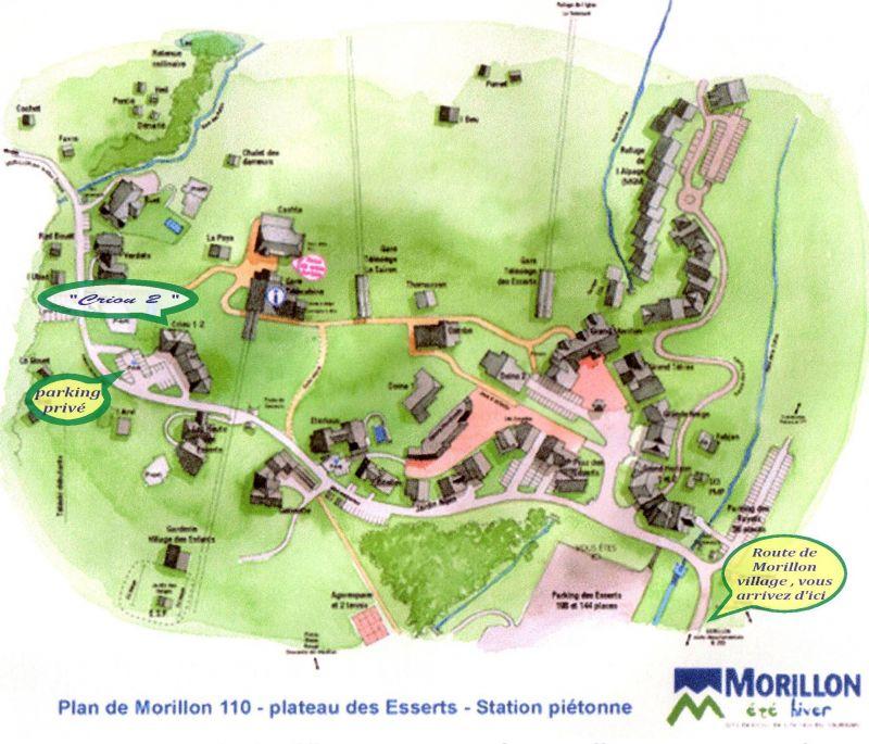Carte Location Appartement 29272 Morillon Grand Massif