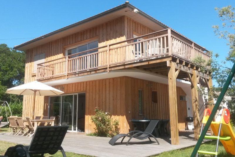 Vue extérieure de la location Location Villa 29456 Cap Ferret