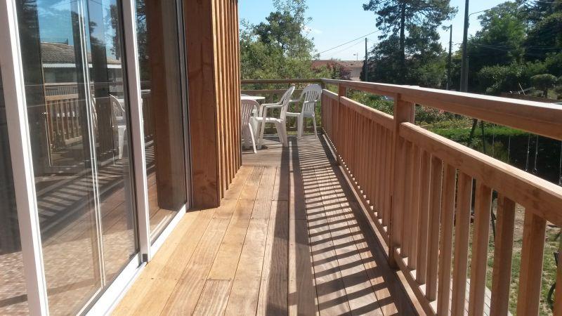 Balcon Location Villa 29456 Cap Ferret