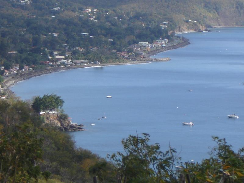 Vue de la terrasse Location Gite 29739 Bouillante