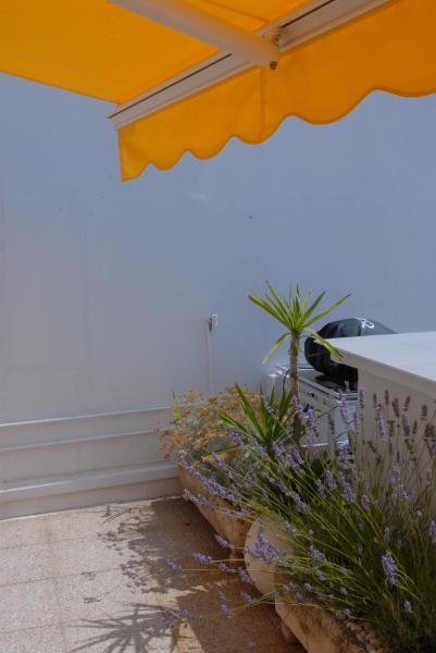 Vue de la terrasse Location Appartement 30181 La Grande Motte