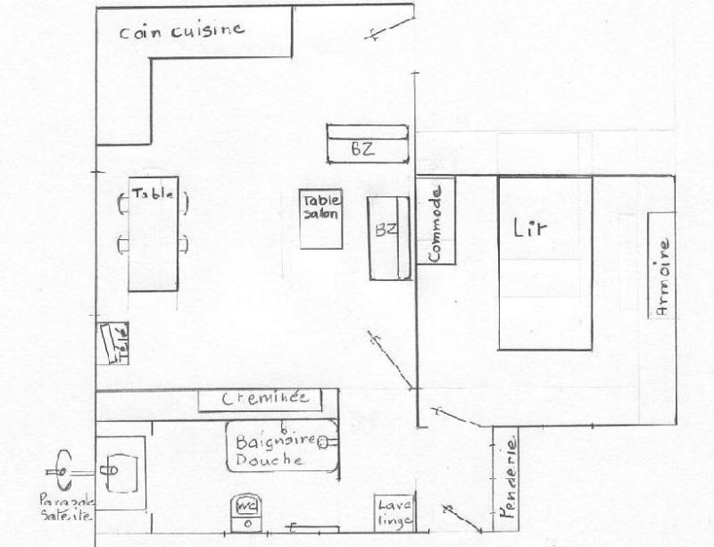 Plan de la location Location Appartement 30368 Le Mont Dore