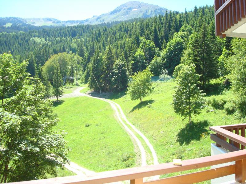 Vue depuis la location Location Appartement 3050 La Tania
