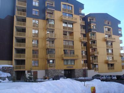 Vue ext�rieure de la location Location Appartement 30670 Val Thorens