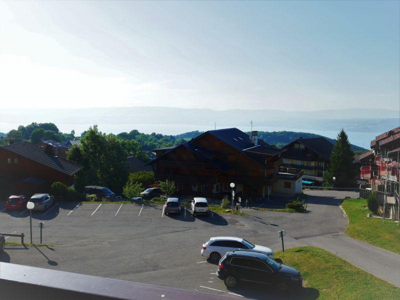 Vue du balcon Location Appartement 3080 Thollon Les Mémises
