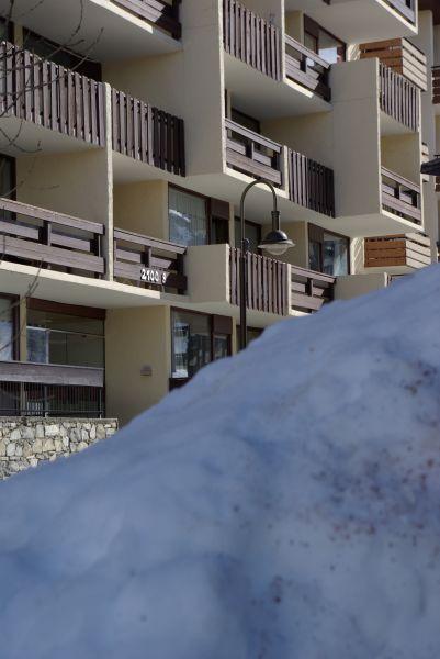 Vue extérieure de la location Location Appartement 3093 Tignes