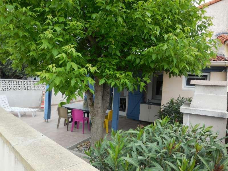 Vue de la terrasse Location Maison 31227 Frontignan