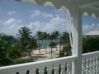 Vue de la terrasse Location Appartement 31362 Saint Francois
