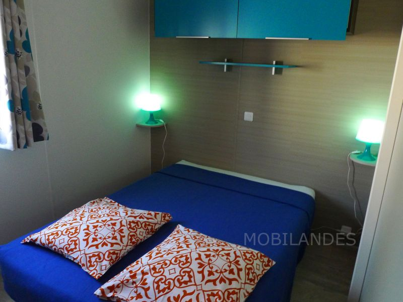 chambre 1 Location Mobil-home 31432 Biscarrosse
