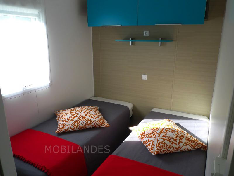chambre 2 Location Mobil-home 31432 Biscarrosse