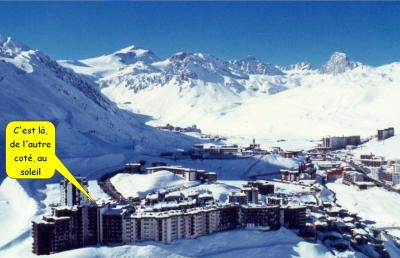 location appartement Tignes Studio de