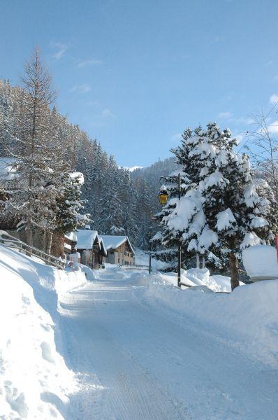 Vue extérieure de la location Location Chalet 31596 La Plagne