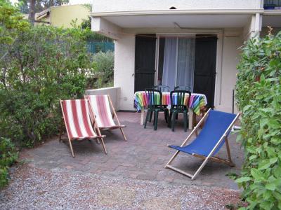 Vue de la terrasse Location Appartement 31825 Cap d'Agde