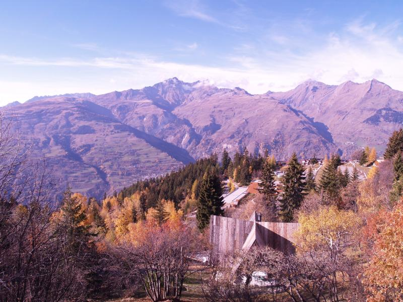 Vue de la terrasse Location Chalet 320 Les Arcs