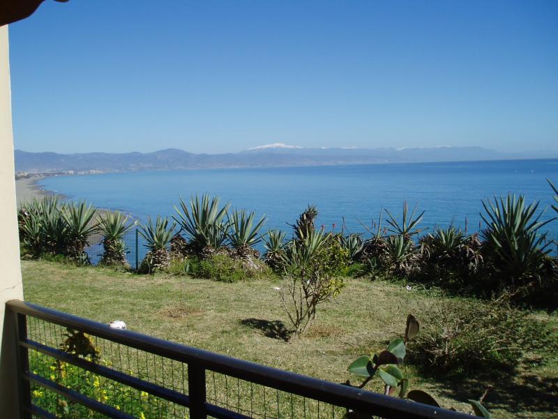 Vue de la terrasse Location Studio 32036 Torremolinos