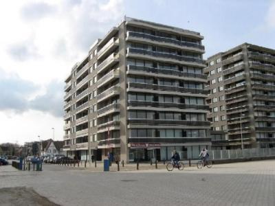 Vue ext�rieure de la location Location Appartement 32142 La Panne