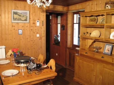 Salle à manger Location Appartement 32184 Chamonix Mont-Blanc