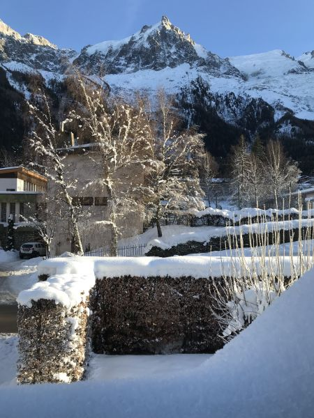 Vue depuis la location Location Appartement 32184 Chamonix Mont-Blanc