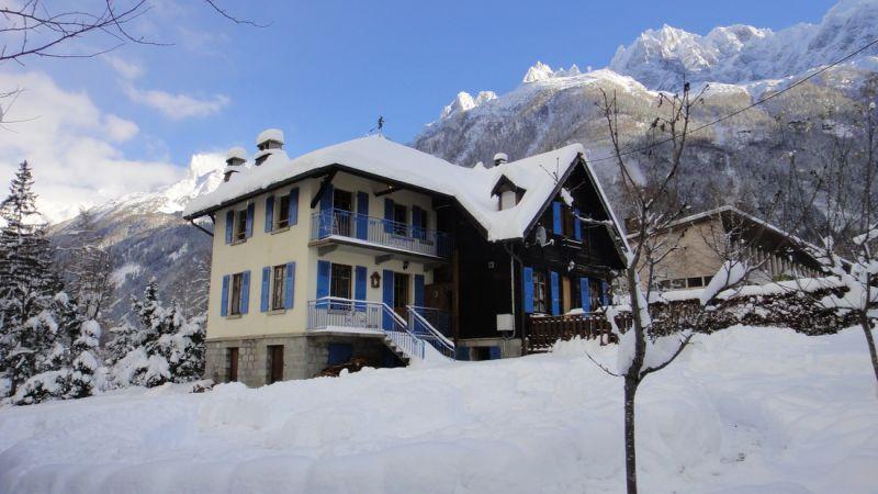 Vue extérieure de la location Location Appartement 32184 Chamonix Mont-Blanc