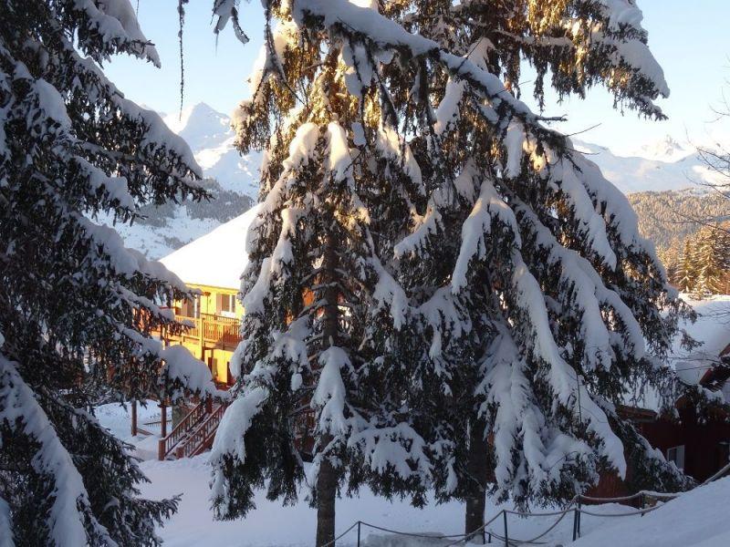 Vue extérieure de la location Location Chalet 322 Les Arcs