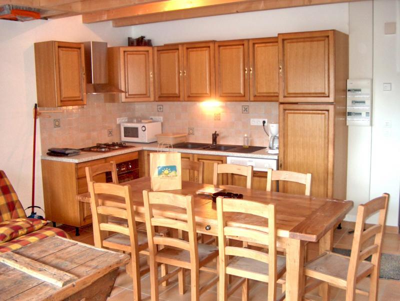 Cuisine d'été Location Appartement 32294 La Grave - La Meije